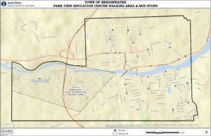 Walking area map